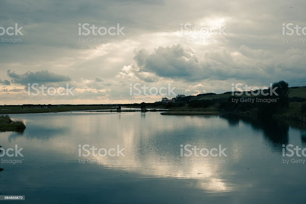 Seven Sisters Country Park - Royalty-free Buitenopname Stockfoto