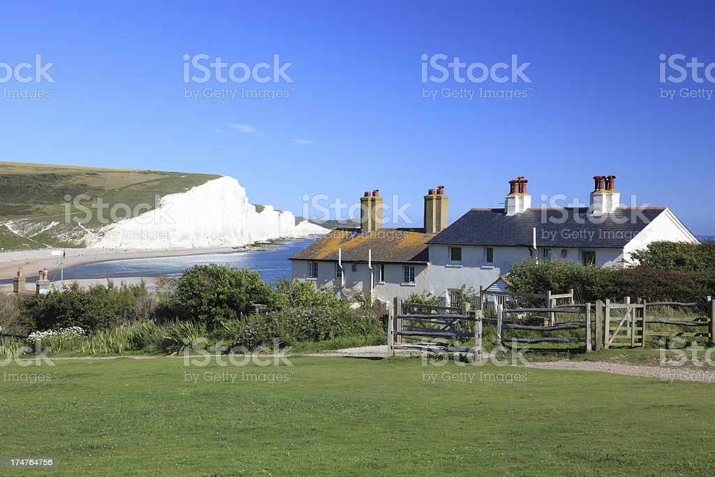 Seven Sisters, Sussex, England royalty-free stock photo