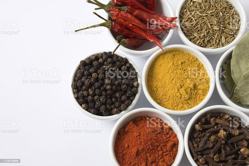 Seven spices 2 royalty-free stock photo