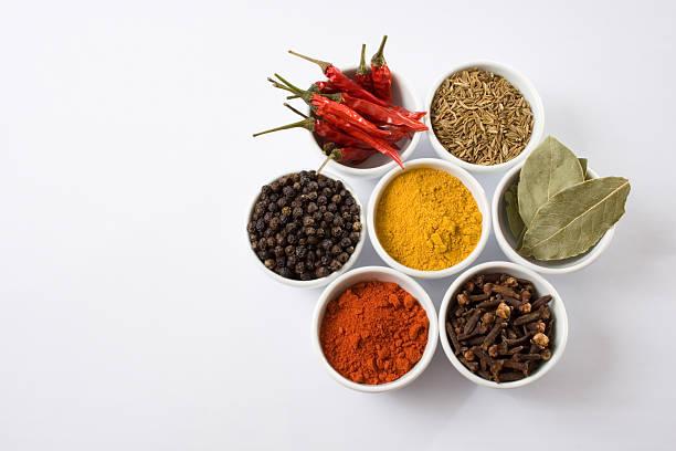 Seven spices stock photo