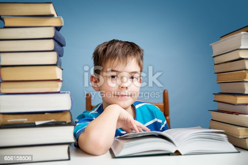 683105722 istock photo seven years old child reading a book 656158506