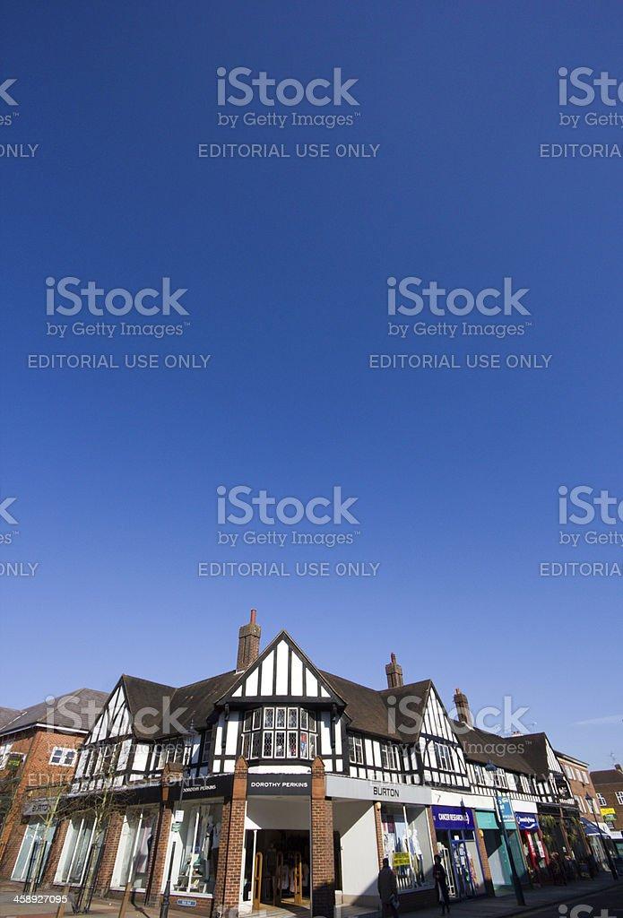 Sevenoaks in Kent, England royalty-free stock photo
