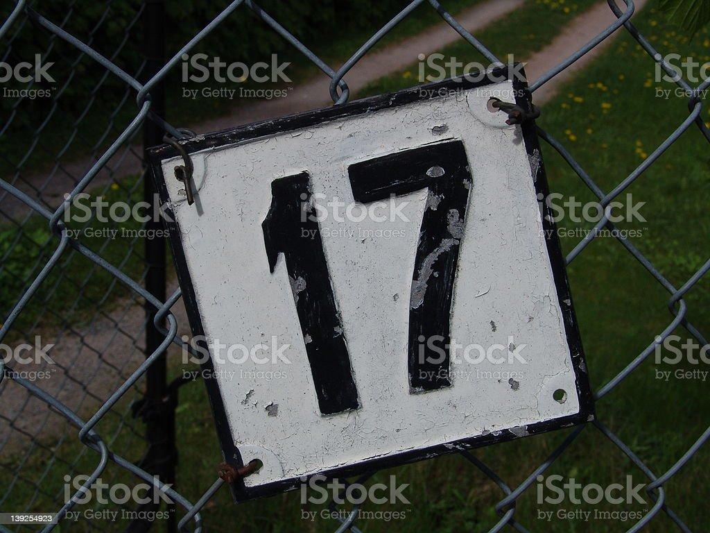 Seventeen royalty-free stock photo