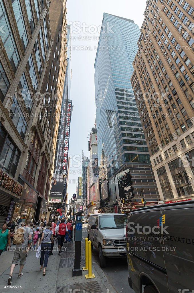 Seventh Avenue royalty-free stock photo