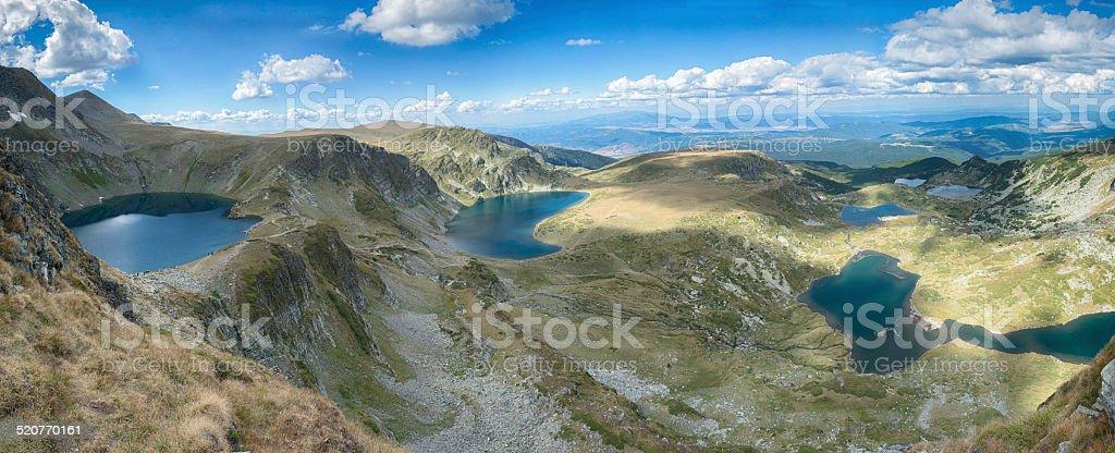 Seventh Rila's lakes stock photo