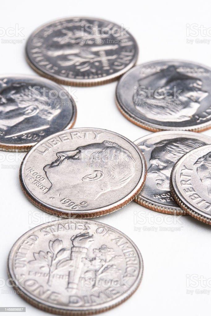 seventy cents royalty-free stock photo