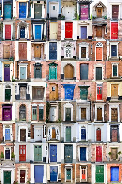 Seventy-Two Doors stock photo