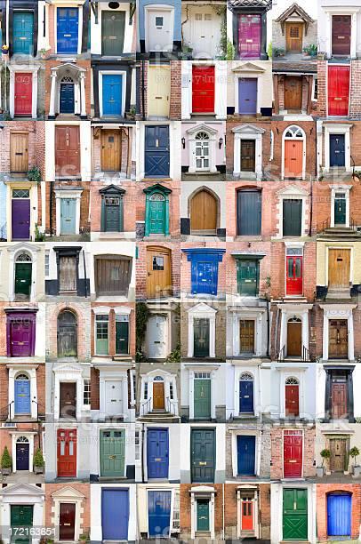 Seventytwo Doors Stock Photo - Download Image Now