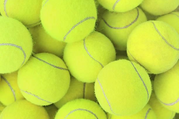 Fond de balles de Tennis - Photo
