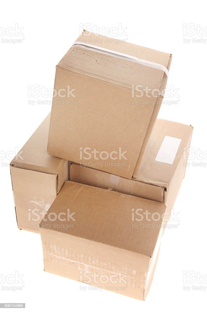Attractive Used Boxes For Moving House #6: Box - Container, Cardboard Box, Container, Moving House, Blank. Several Used  Boxes ...