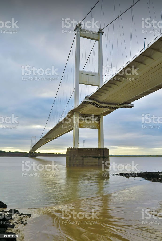 Severn Bridge M48 UK stock photo