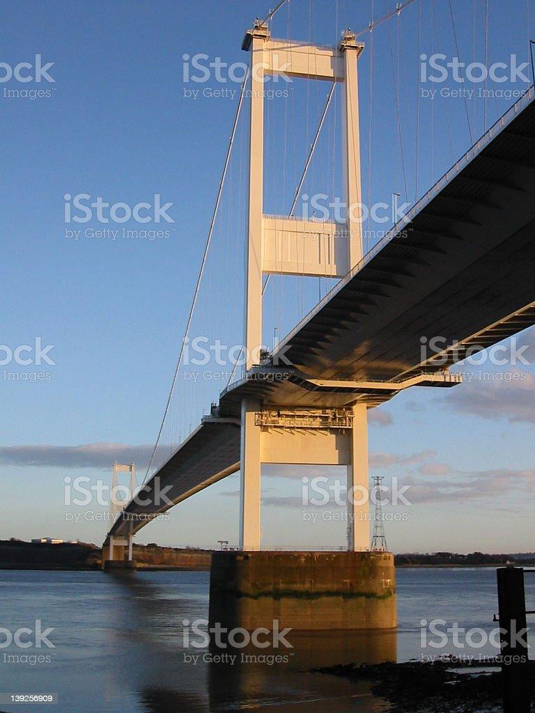 Severn Bridge stock photo