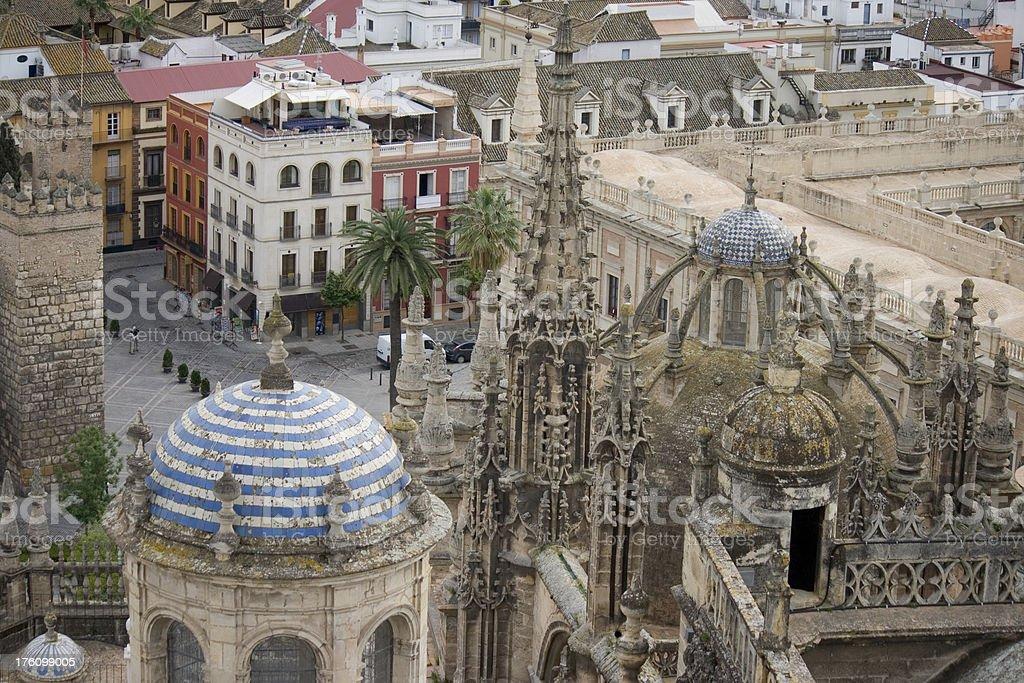 Sevilla Cathedral, Spain stock photo