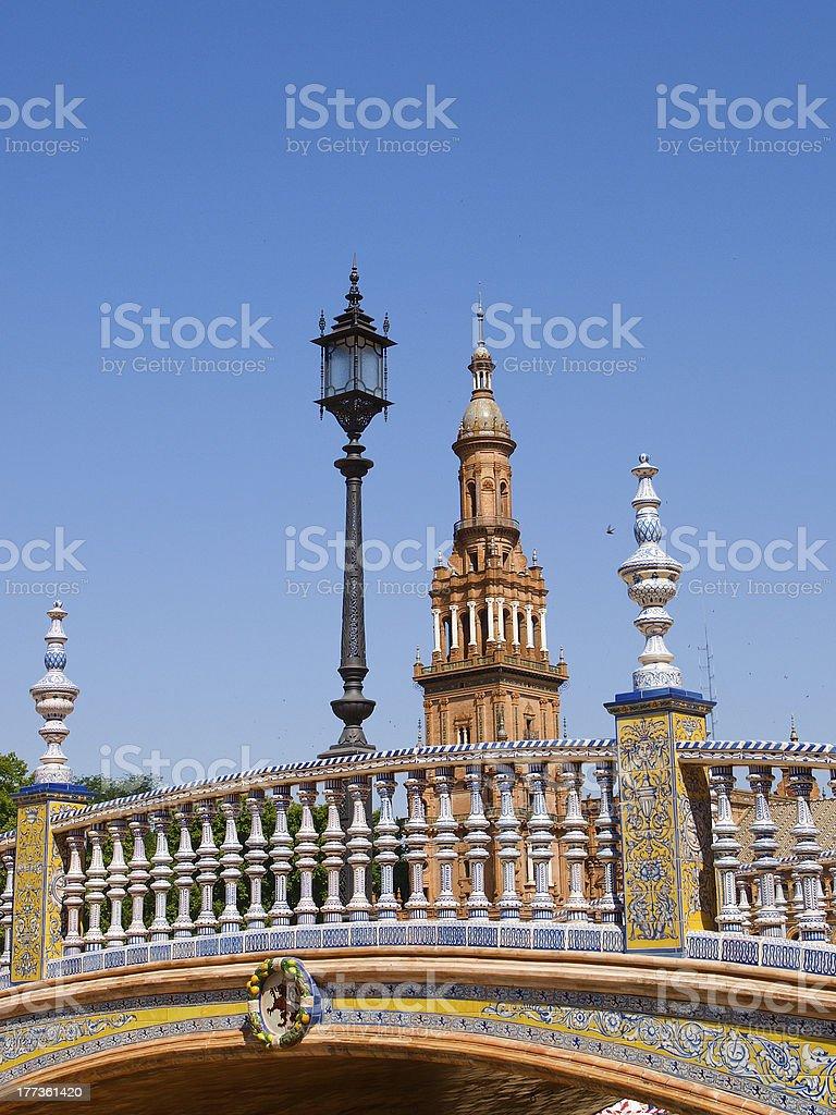 Sevilla royalty-free stock photo