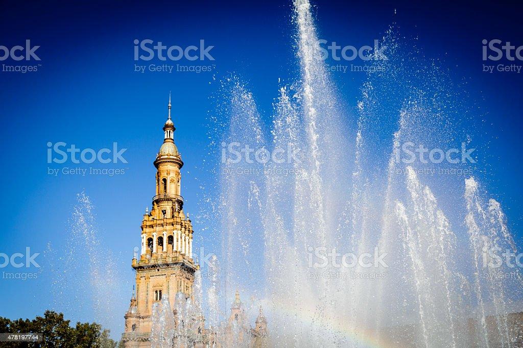 Sevilla stock photo