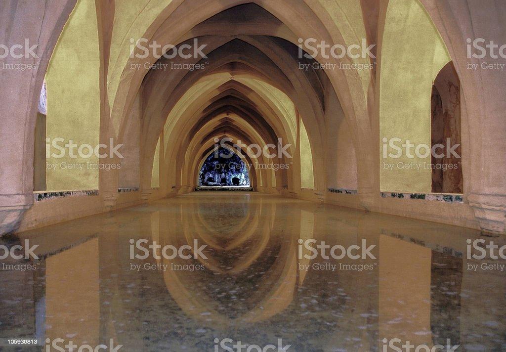 Sevilla, Alcazar, Spain royalty-free stock photo