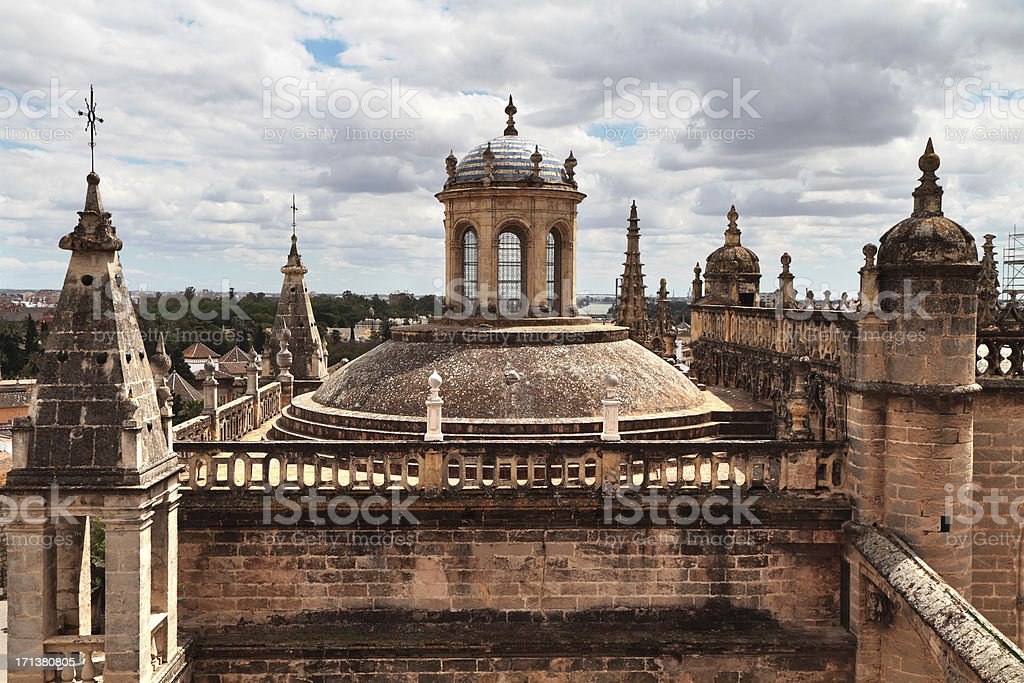 Seville Catedral, Spain stock photo