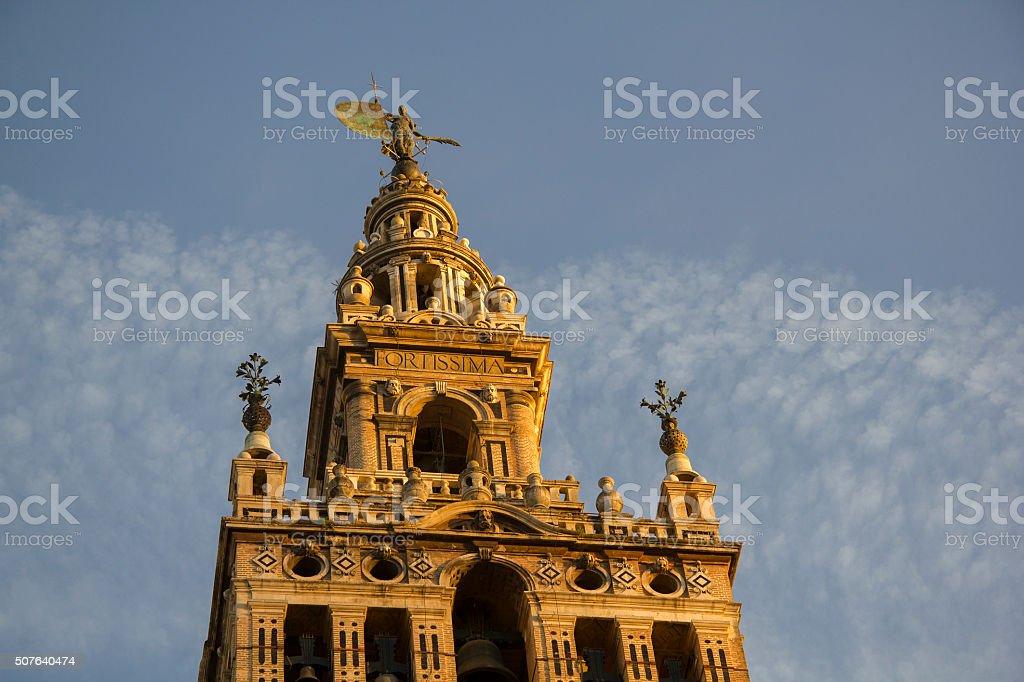 Catedral Sevilla stock photo