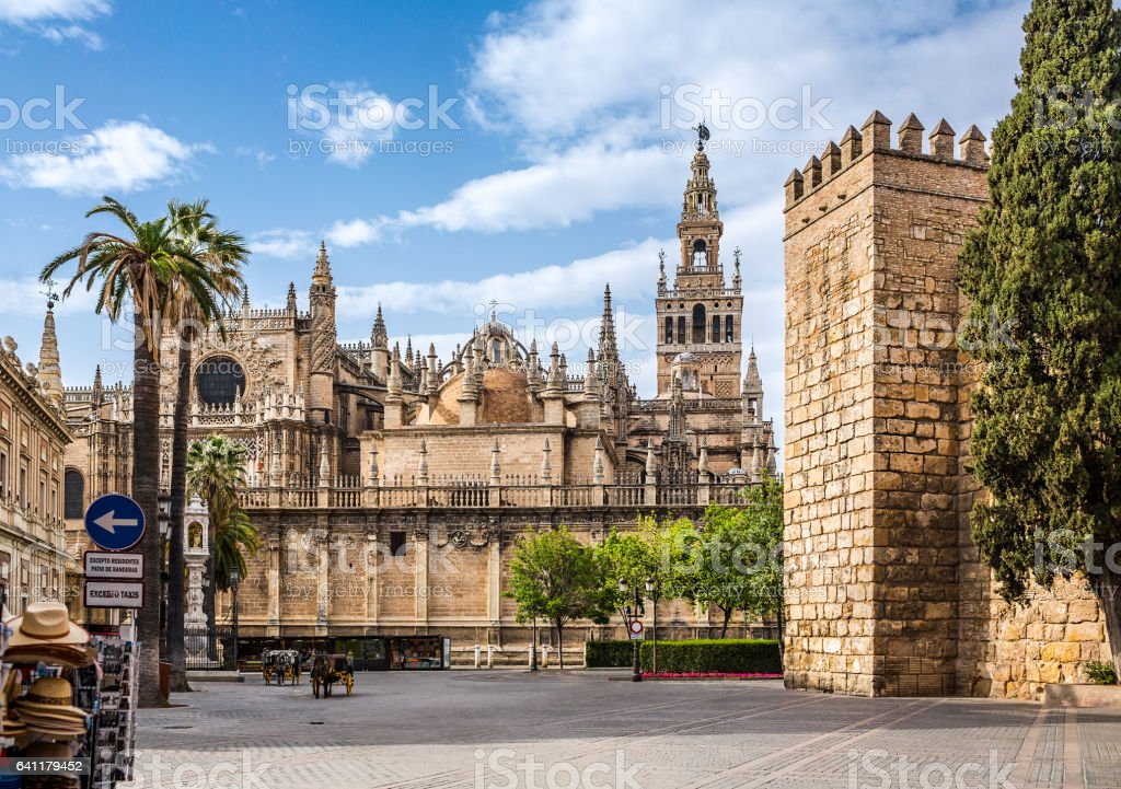 Seville Cathedral. Spain. - foto de stock