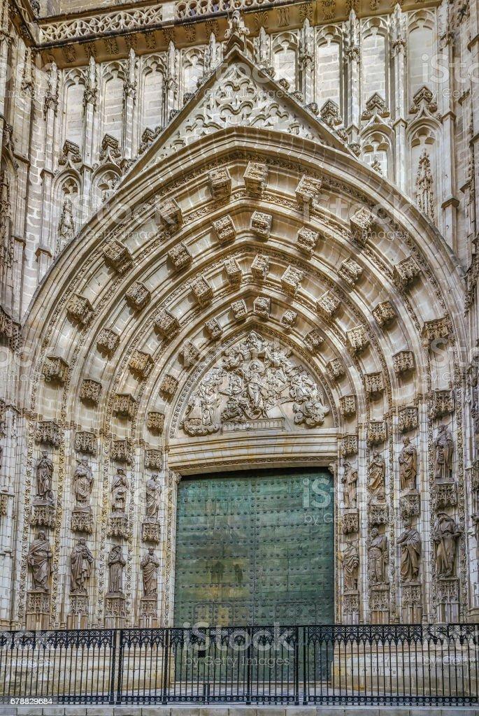 Seville Cathedral, Spain photo libre de droits