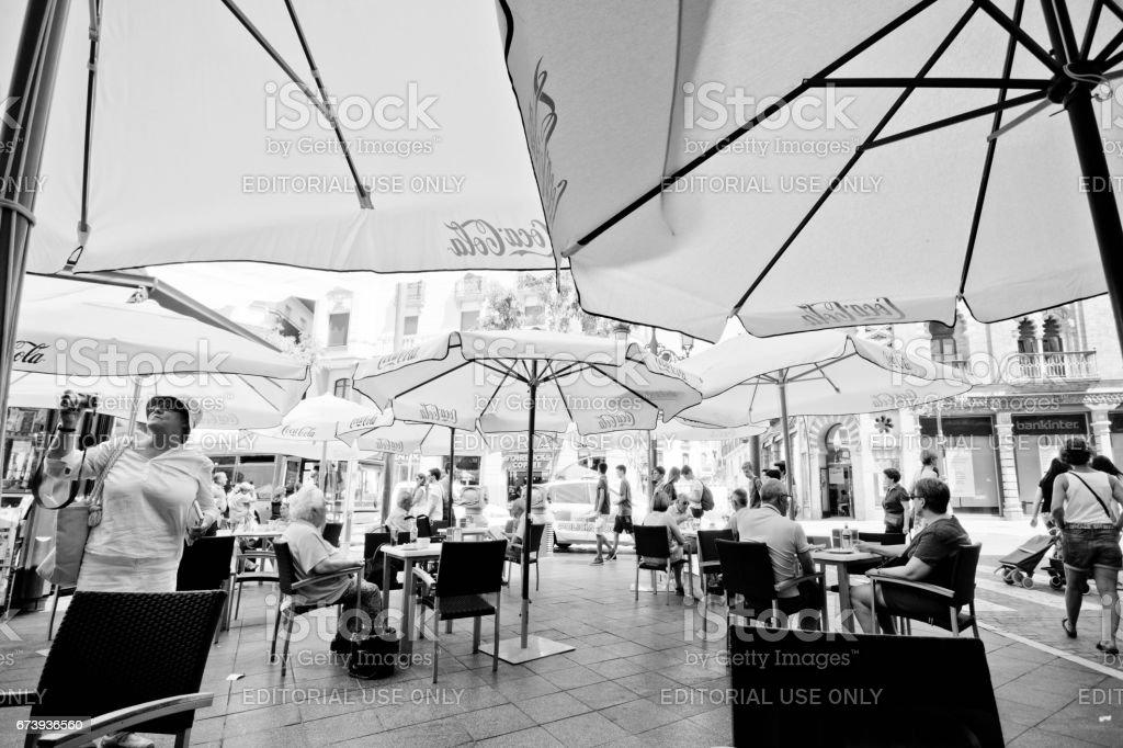 Seville centre foto de stock royalty-free