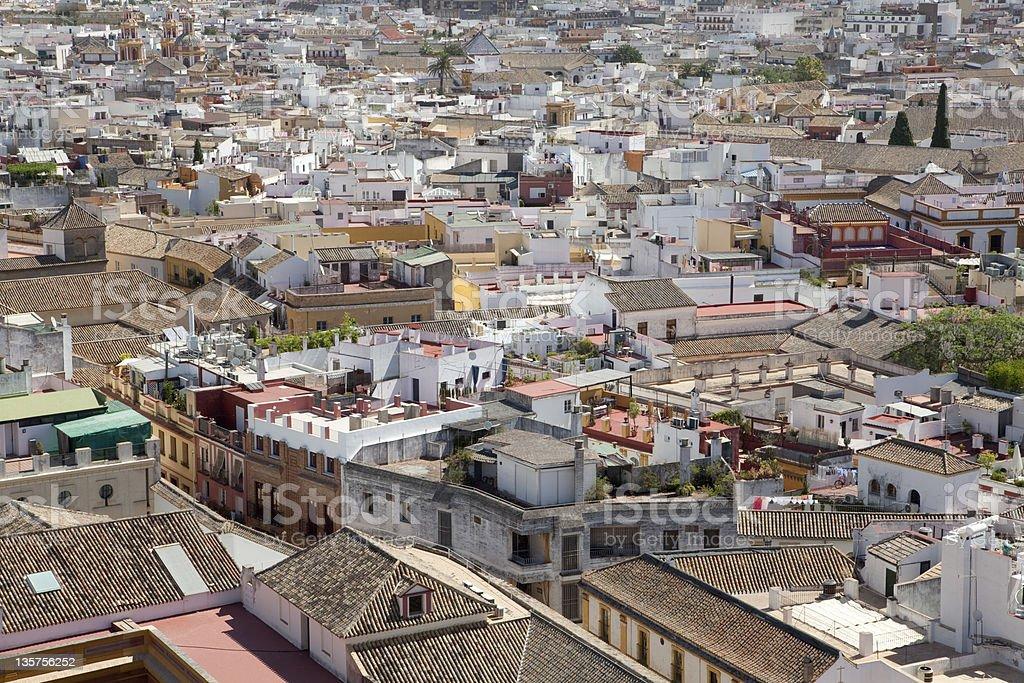 Seville Cityscape royalty-free stock photo
