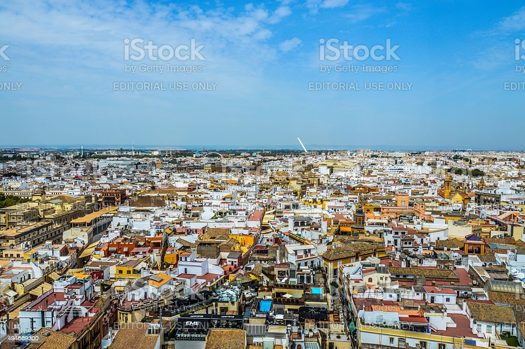 Seville Cityscape stock photo