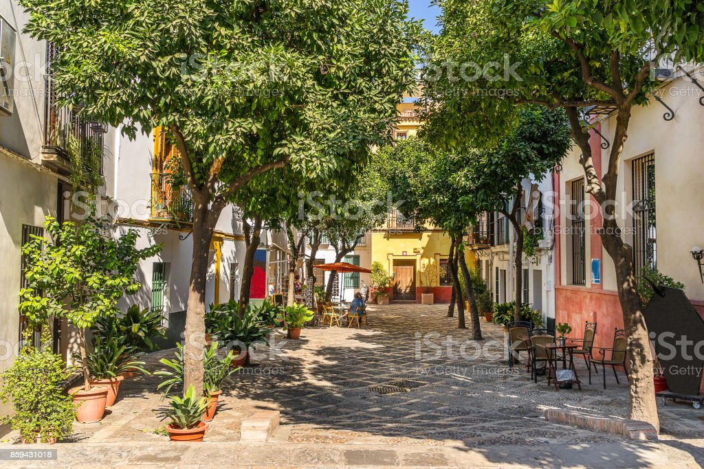 Seville in South east Spain stock photo