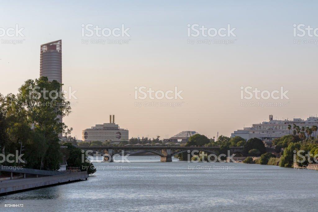 Seville Landscape stock photo