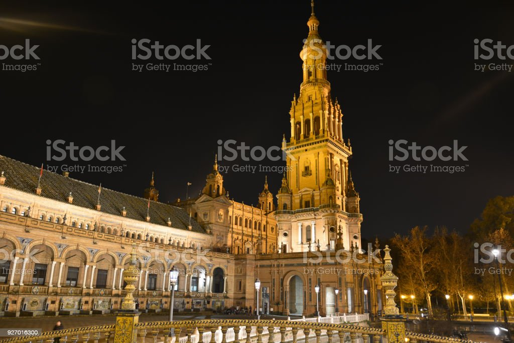 Seville One Of The Most Beautiful Cities In World Royalty Free Stock Photo