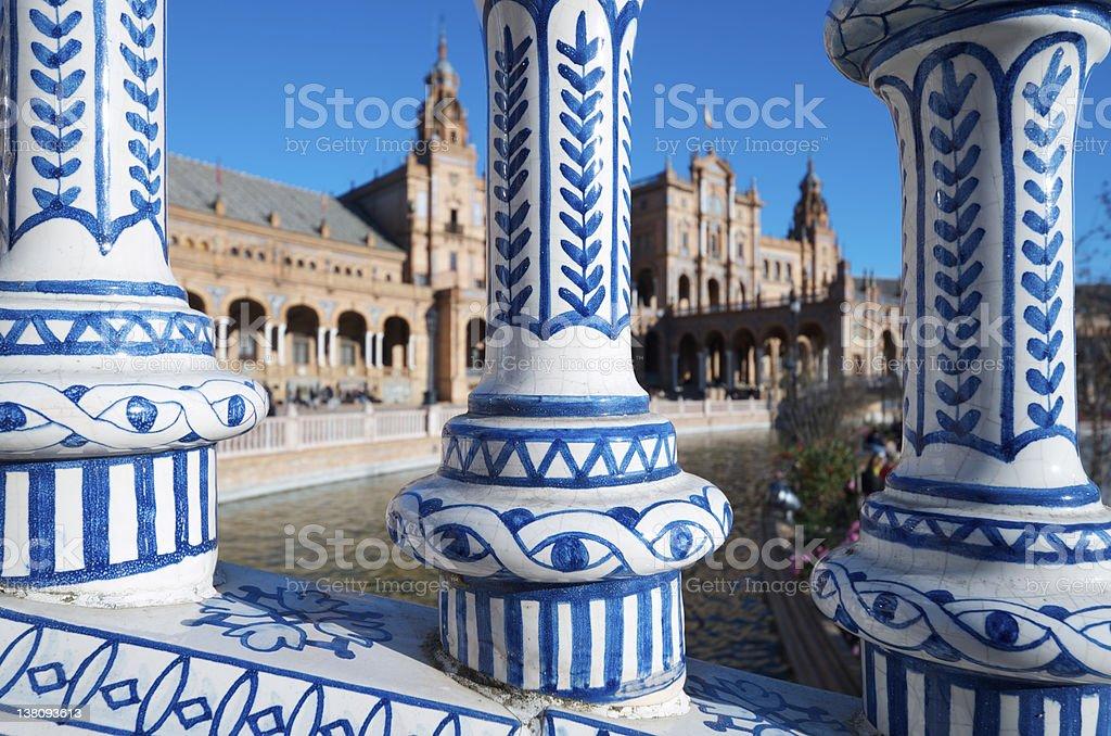 Seville royalty-free stock photo