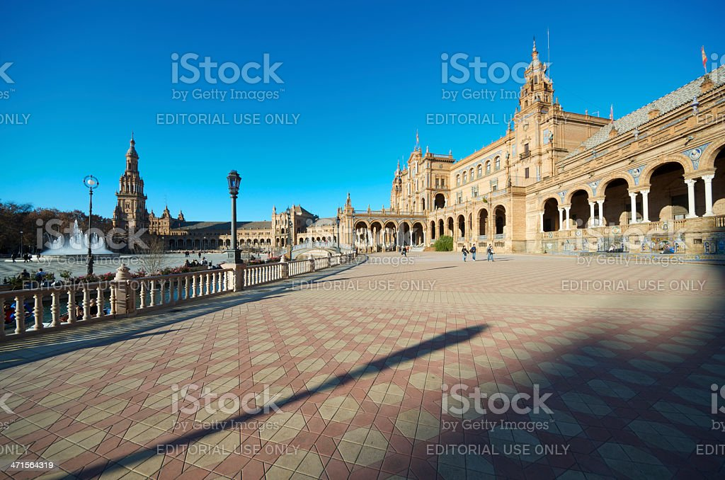 Seville royalty-free stock photo