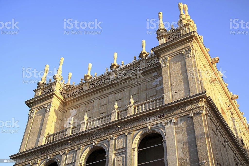 Seville. Santa Maria Cathedral. Detail royalty-free stock photo