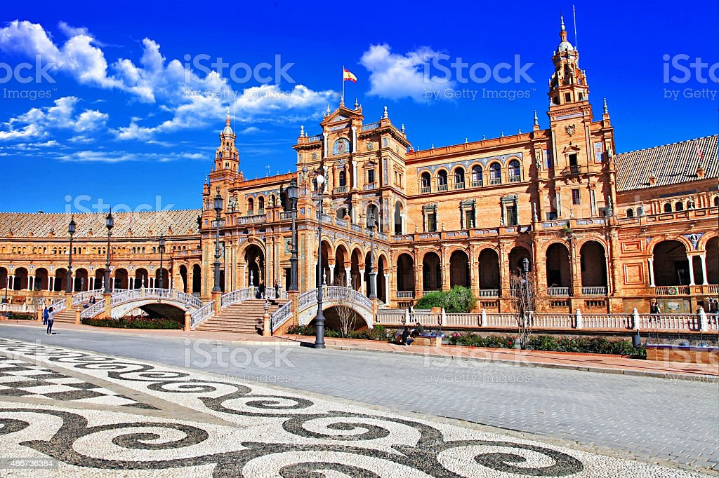 Sevilla,Spain. stock photo