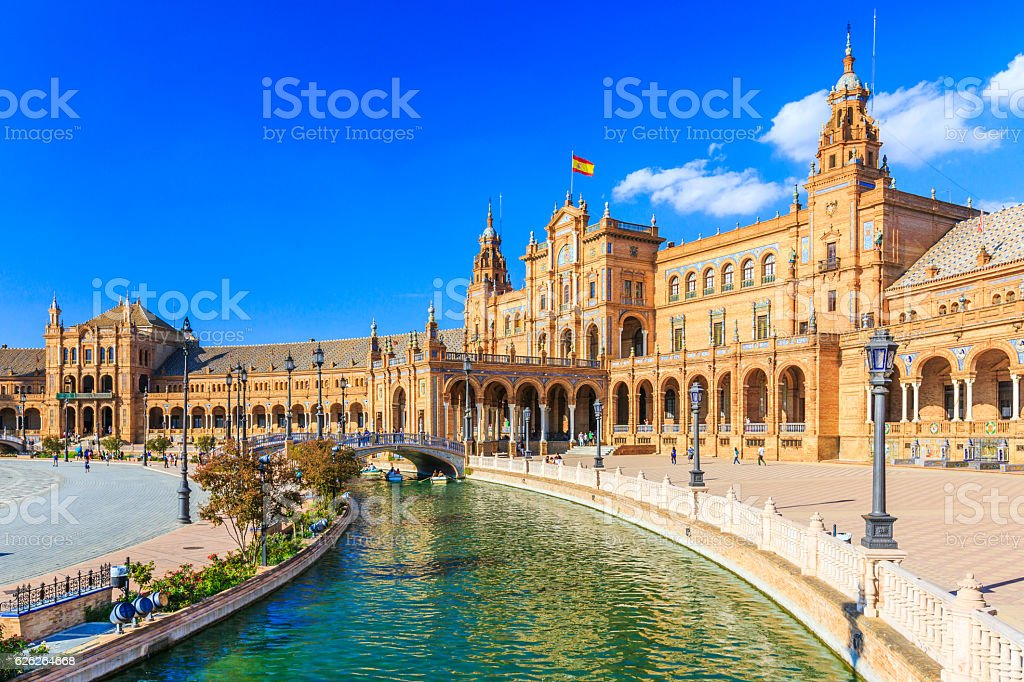 Seville, Spain. stock photo