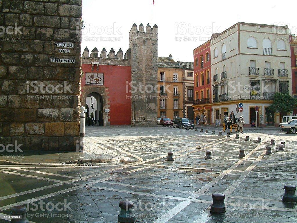 Seville, Spain royalty-free stock photo