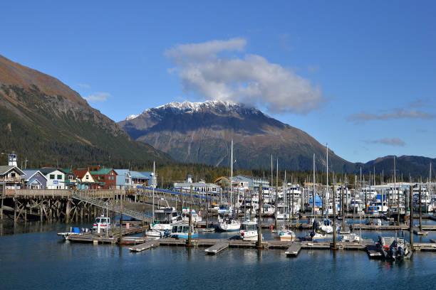 Seward, Alaska stock photo