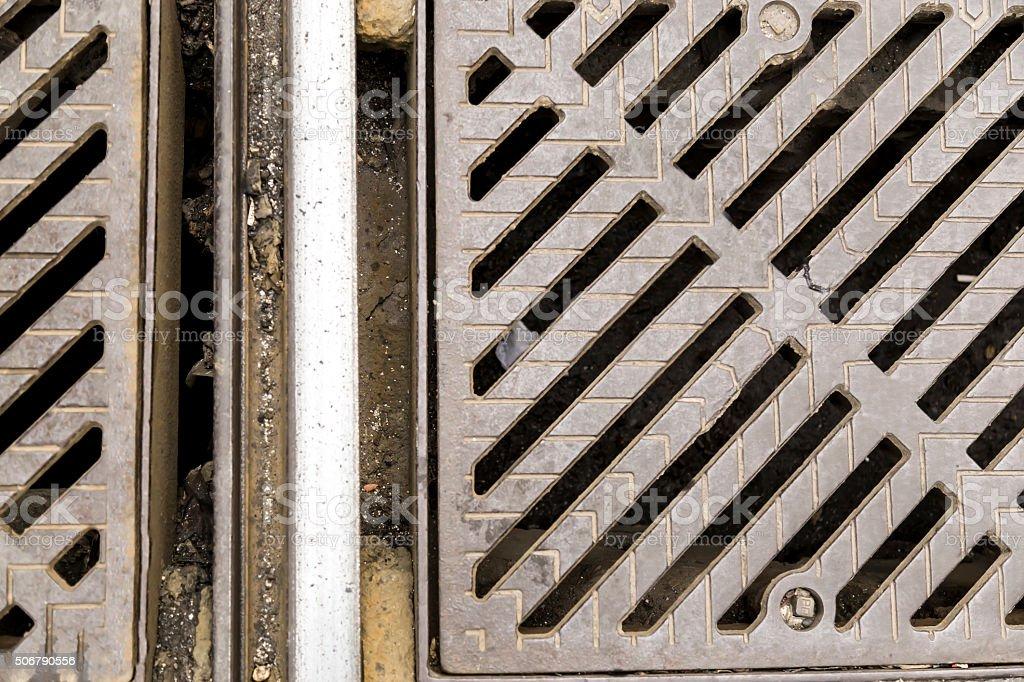 Sewers stock photo