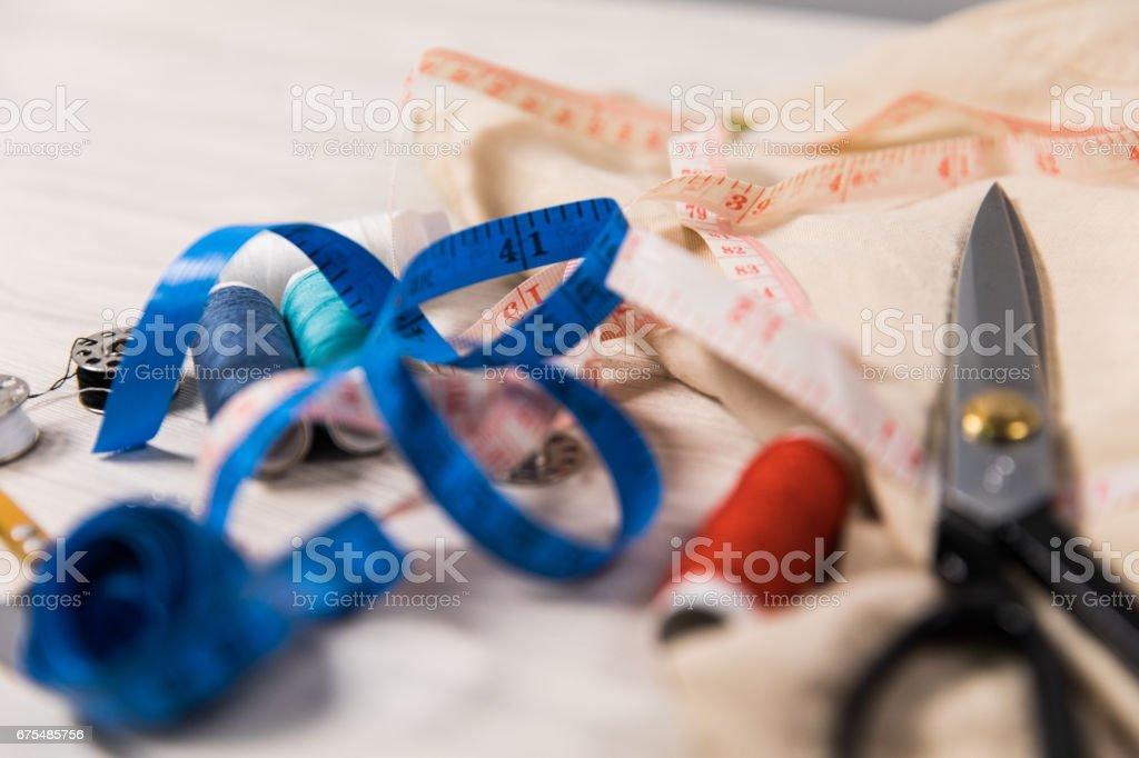 Dikiş aksesuarları royalty-free stock photo