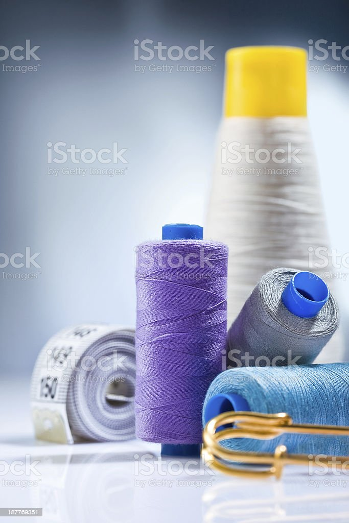 sewing  composition stock photo
