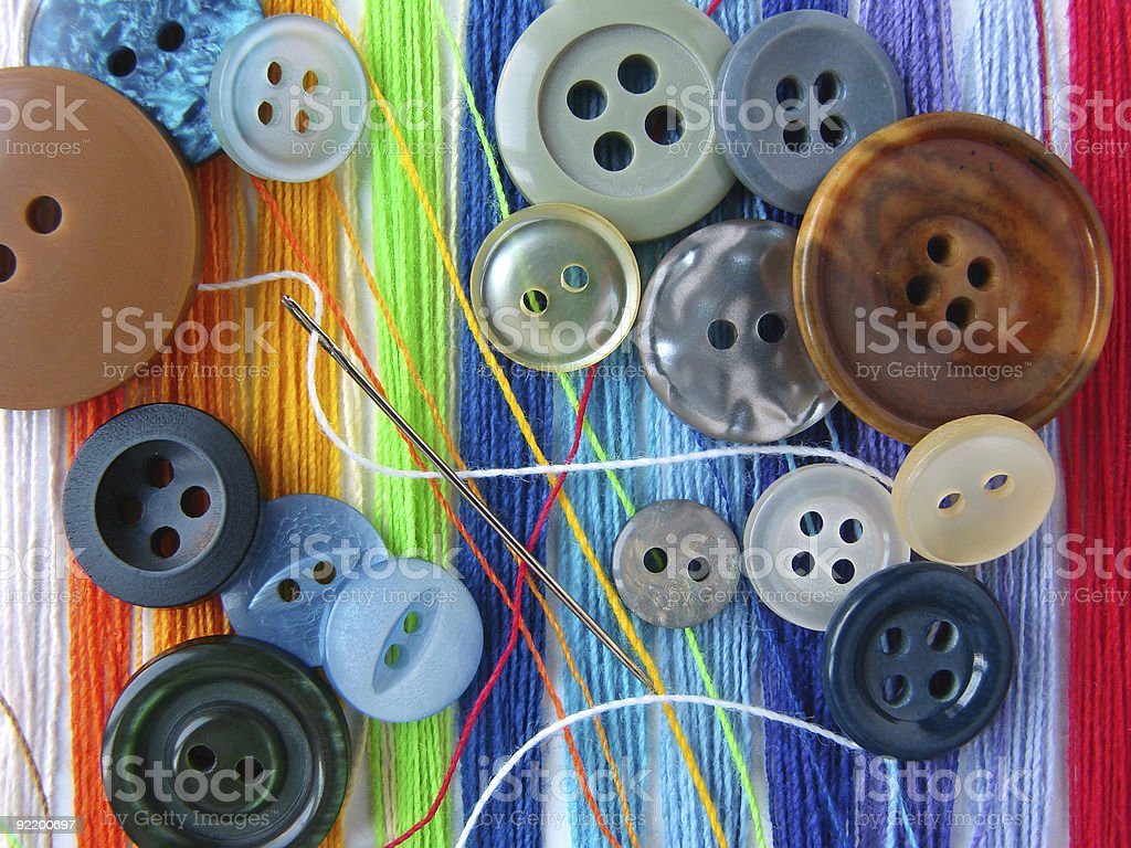 sewing design royalty-free stock photo