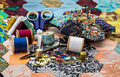 Sewing Equipment / Patchwork Quilt