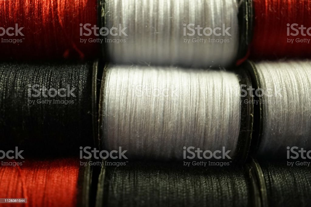 shot of sewing items