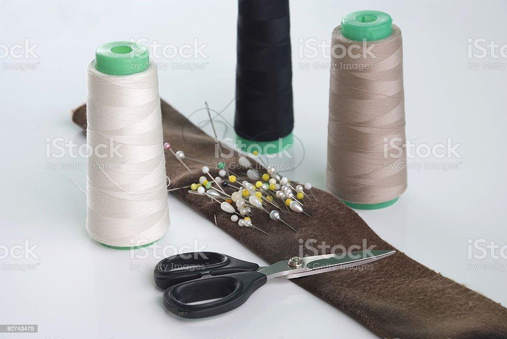 Nähen-kit Lizenzfreies stock-foto