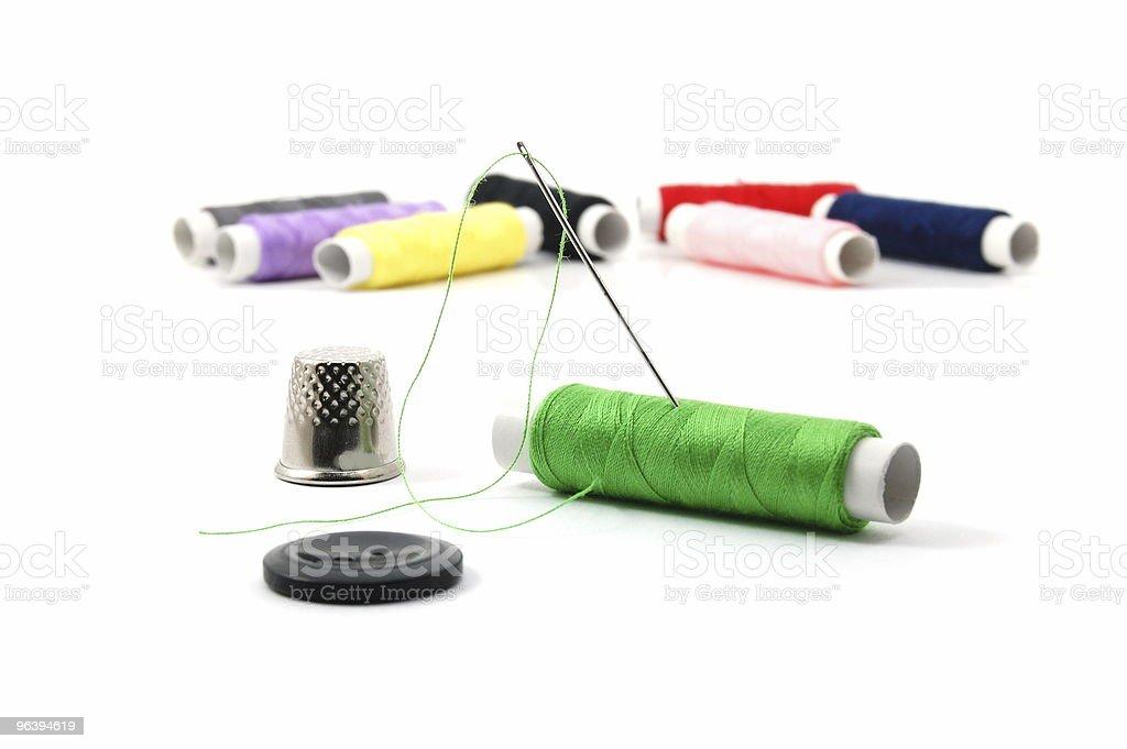 sewing kit - Royalty-free Clothing Stock Photo