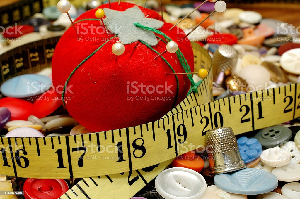 Sewing Series royalty-free stock photo