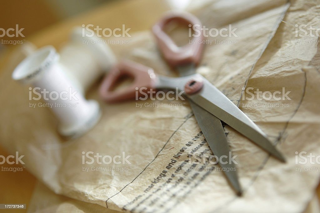 sewing series stock photo