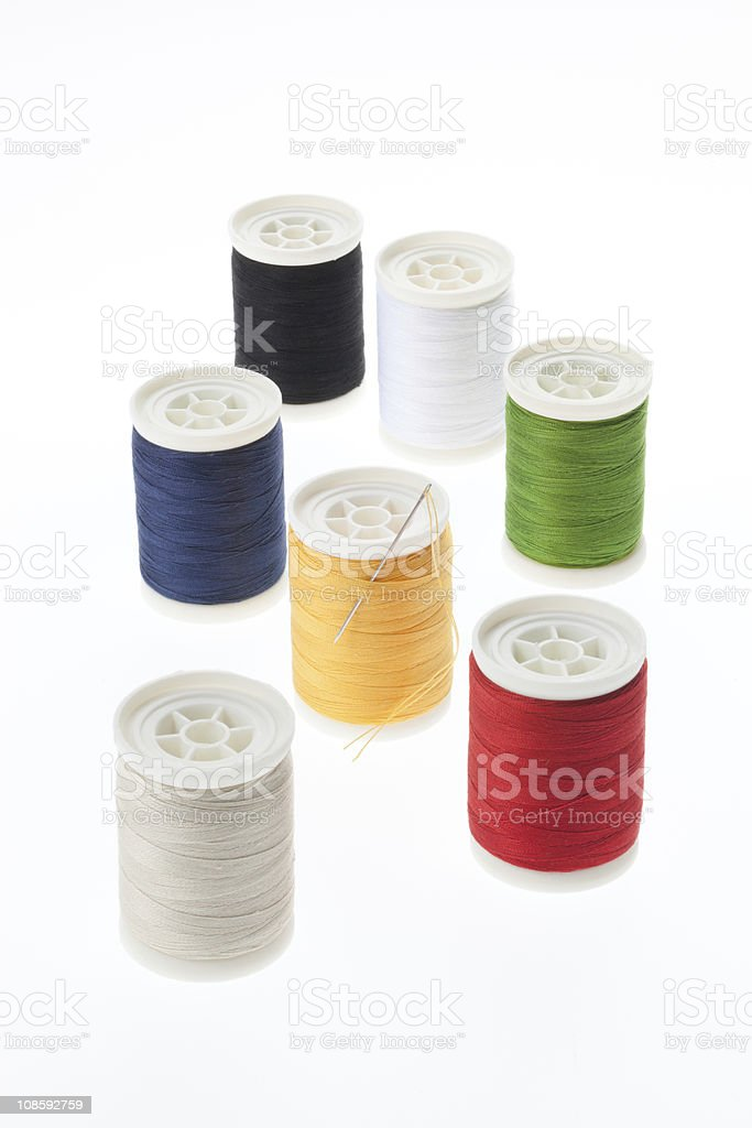 Sewing set royalty-free stock photo