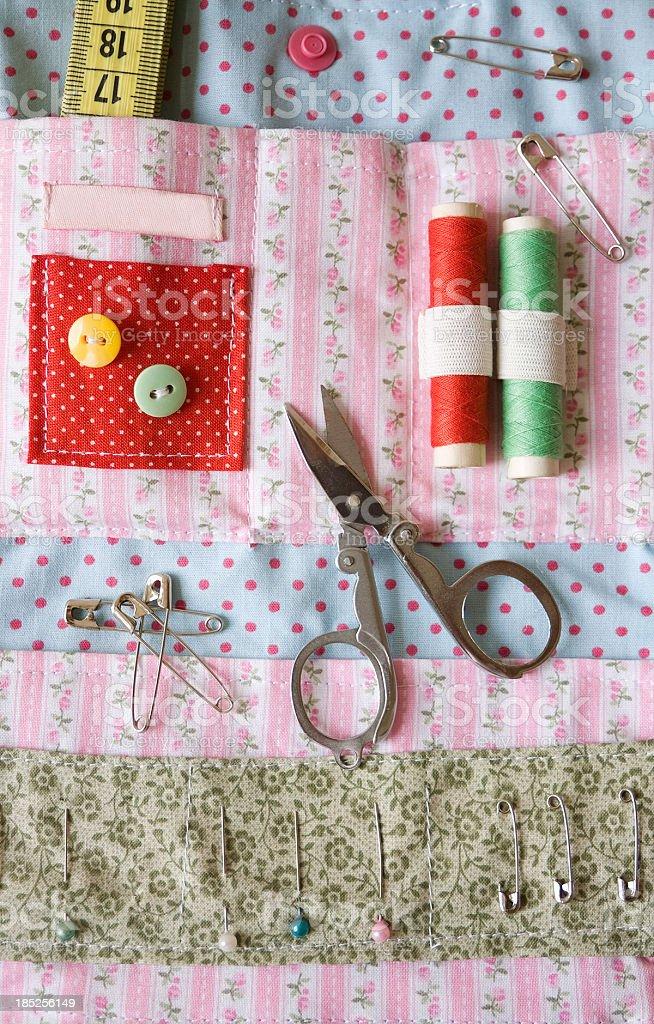 Sewing set stock photo