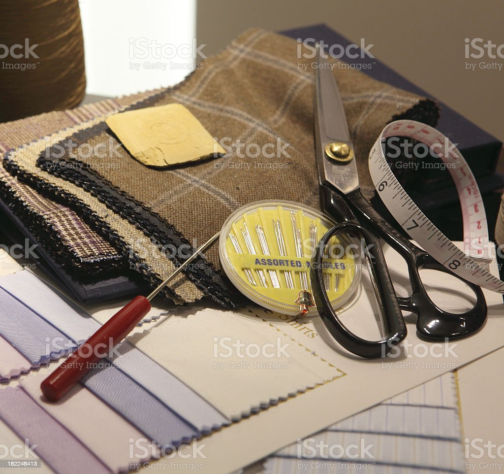Sewing Tools royalty-free stock photo